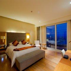 Отель Mingshen Golf & Bay Resort Sanya 4* Номер Делюкс с различными типами кроватей фото 5
