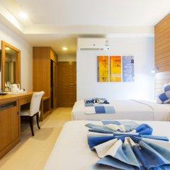 Chaweng Budget Hotel 3* Стандартный номер с различными типами кроватей фото 5