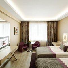 WOW Istanbul Hotel 5* Стандартный номер с разными типами кроватей