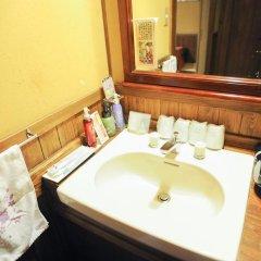 Отель Ryokan Fujimoto Минамиогуни ванная