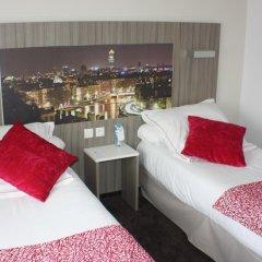 Отель Best Western Saphir Lyon 4* Стандартный номер с различными типами кроватей фото 2