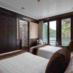 Отель Pelican Halong Cruise 4* Номер Делюкс с различными типами кроватей фото 2