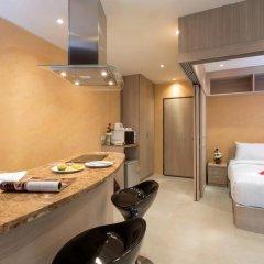 Отель Patong Bay Residence R07 2* Улучшенный номер с различными типами кроватей фото 8