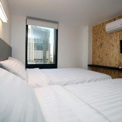 K-POP HOTEL Dongdaemun 2* Номер Делюкс с различными типами кроватей фото 8