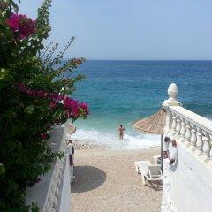 Отель Visad Албания, Саранда - отзывы, цены и фото номеров - забронировать отель Visad онлайн пляж фото 2