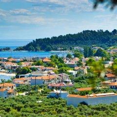 Отель Thassian Villas пляж