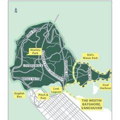 Отель The Westin Bayshore Vancouver Канада, Ванкувер - отзывы, цены и фото номеров - забронировать отель The Westin Bayshore Vancouver онлайн городской автобус