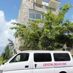 Отель Crystal Beach Inn городской автобус
