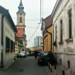 Отель Villa Zemun Белград парковка