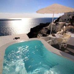 Отель Vip Suites Греция, Остров Санторини - 1 отзыв об отеле, цены и фото номеров - забронировать отель Vip Suites онлайн бассейн фото 2