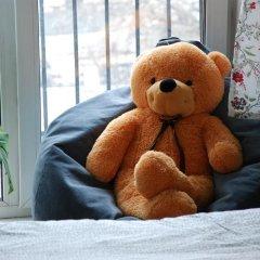 Хостел на Красном Семейный номер категории Эконом с двуспальной кроватью фото 5