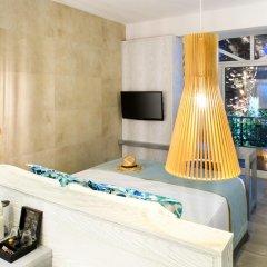 Отель Antigoni Beach Resort 4* Стандартный номер с различными типами кроватей фото 9