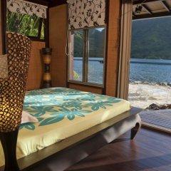 Отель Robinson's Cove Villas - Deluxe Wallis Villa Французская Полинезия, Муреа - отзывы, цены и фото номеров - забронировать отель Robinson's Cove Villas - Deluxe Wallis Villa онлайн балкон