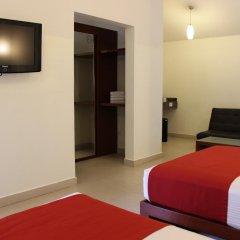 Отель Grand City Hotel Cancun Мексика, Канкун - отзывы, цены и фото номеров - забронировать отель Grand City Hotel Cancun онлайн комната для гостей фото 3