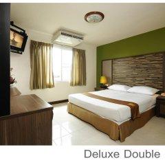 Отель Rambuttri Village Inn & Plaza 3* Номер Делюкс с двуспальной кроватью фото 2