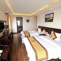 Отель Nguyen Dang Guesthouse Улучшенный номер с различными типами кроватей фото 6