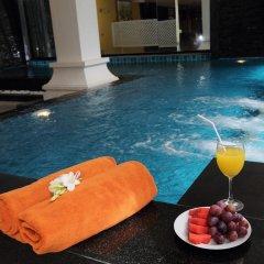 Ansino Bukit Hotel 3* Улучшенный номер двуспальная кровать фото 17