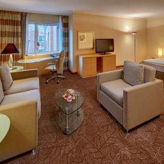Отель Hilton Munich City 4* Стандартный номер с различными типами кроватей фото 4