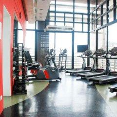 Отель Radisson Blu São Paulo фитнесс-зал фото 4