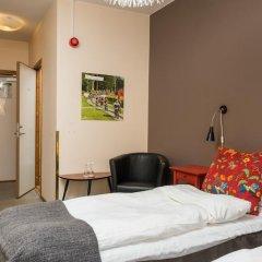 Отель Hotell Fridhemsgatan 3* Стандартный номер с различными типами кроватей фото 9