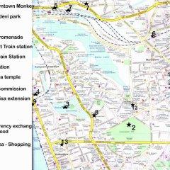 Colombo Downtown Monkey Hostel спортивное сооружение