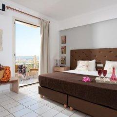 Notos Heights Hotel & Suites 4* Улучшенная студия с различными типами кроватей фото 10