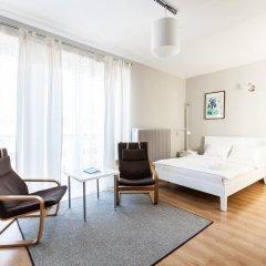 Отель Apartment4you Wilcza Студия с различными типами кроватей фото 5