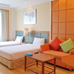 Отель Jasmine City 4* Студия Делюкс с разными типами кроватей фото 2
