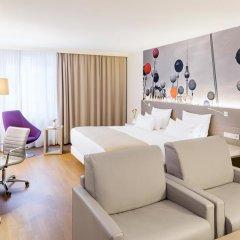Отель NH Collection Berlin Mitte Am Checkpoint Charlie 4* Люкс с разными типами кроватей фото 22