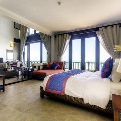 Отель Lotus Muine Resort & Spa 4* Люкс с различными типами кроватей фото 2