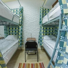 DimAL Hostel Almaty Кровать в мужском общем номере двухъярусные кровати фото 3