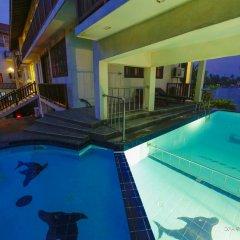 Отель Marina Bentota Шри-Ланка, Бентота - отзывы, цены и фото номеров - забронировать отель Marina Bentota онлайн бассейн фото 2