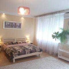 Апартаменты Apartment Red and White комната для гостей фото 5