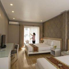Saga Hotel 2* Стандартный семейный номер с двуспальной кроватью фото 5