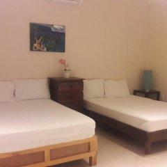 Отель Mansion Giahn Bed & Breakfast Мексика, Канкун - отзывы, цены и фото номеров - забронировать отель Mansion Giahn Bed & Breakfast онлайн комната для гостей фото 2