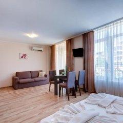Отель Aparthotel Dawn Park Болгария, Солнечный берег - отзывы, цены и фото номеров - забронировать отель Aparthotel Dawn Park онлайн комната для гостей фото 2