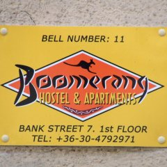 Boomerang Hostel Будапешт интерьер отеля