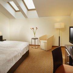 Clarion Hotel Prague City 4* Улучшенный номер с различными типами кроватей фото 3