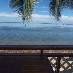 Отель Pension Armelle Bed & Breakfast Tahiti Французская Полинезия, Пунаауиа - отзывы, цены и фото номеров - забронировать отель Pension Armelle Bed & Breakfast Tahiti онлайн балкон