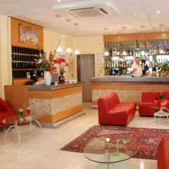 Hotel Bellerofonte Римини гостиничный бар