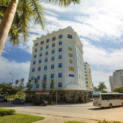 Muong Thanh Three Star Hotel Халонг парковка