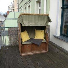 Отель Haus Strandgut балкон