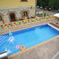 Отель Conjunto Hotelero La Pasera Кангас-де-Онис бассейн