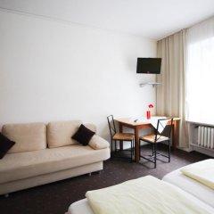 Отель Pension/Guesthouse am Hauptbahnhof Стандартный номер с двуспальной кроватью (общая ванная комната) фото 9