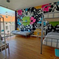 Heart of Gold Hostel Berlin Кровать в общем номере с двухъярусной кроватью фото 5