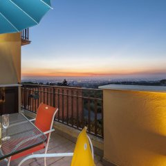 Отель Villa Savoia балкон