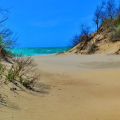 Гостиница Domiki U Morya пляж фото 2