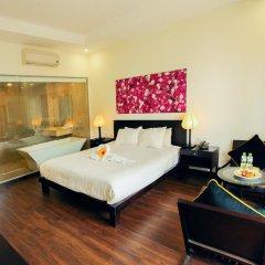 Отель Thanh Binh Riverside Hoi An 4* Номер Делюкс с различными типами кроватей фото 2