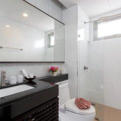 Апартаменты G1 Serviced Apartment Kamala Beach Стандартный номер с различными типами кроватей фото 7