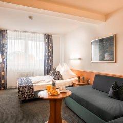 Hotel Am Moosfeld 4* Стандартный номер с различными типами кроватей фото 9